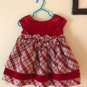 Baby Girl Christmas Dress 12m NWT
